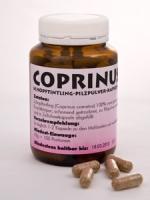 Coprinus-Pilzpulver-Kapseln