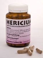 Hericium-Pilzpulver-Kapseln