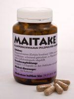 Maitake-Pilzpulver-Kapseln