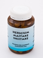 Pilzpulver-Kapseln (Mischung Nr. 316) HERICIUM-MAITAKE-SHIITAKE