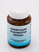 Pilzpulver-Kapseln (Mischung Nr. 337) REISHI-CORDYCEPS-PLEUROTUS