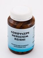Pilzpulver-Kapseln (Mischung Nr. 344) CORDYCEPS-HERICIUM-REISHI