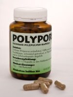 Polyporus-Pilzpulver-Kapseln