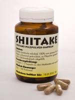 Shiitake-Pilzpulver-Kapseln